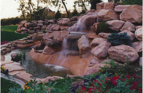 Sandy Waterfall